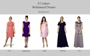 2014 Bridesmaids Dresses