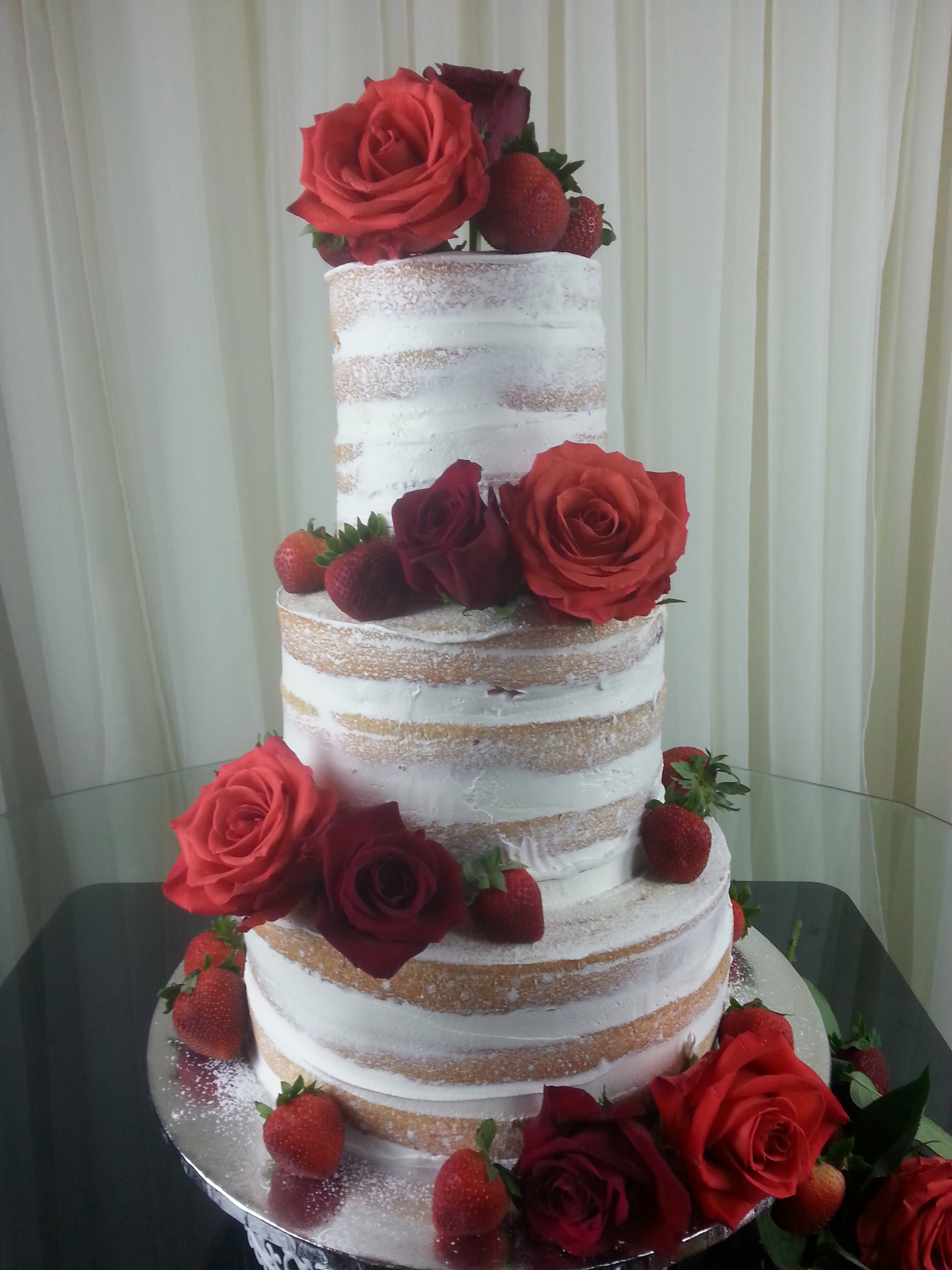 Naked Cake Wedding Trend Kcouture Blog