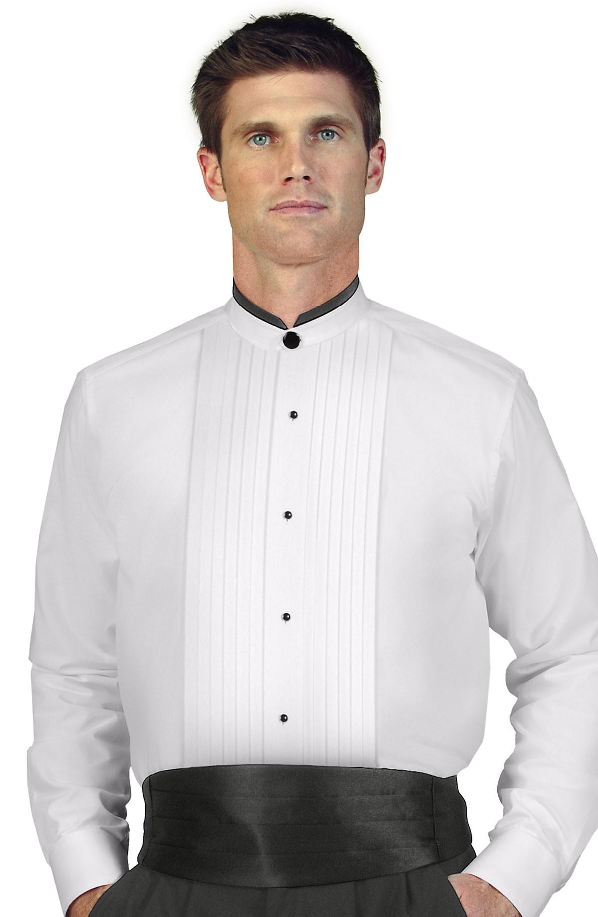 White Dress Shirt Men