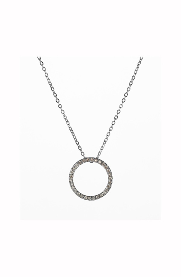 Circle Of Life CZ Necklace