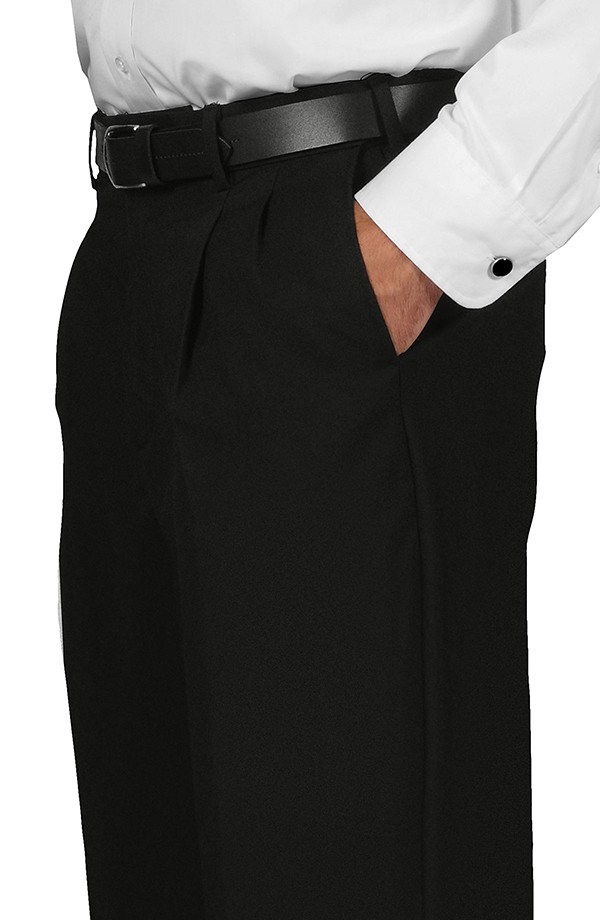 Pleated Comfort Dress Trousers