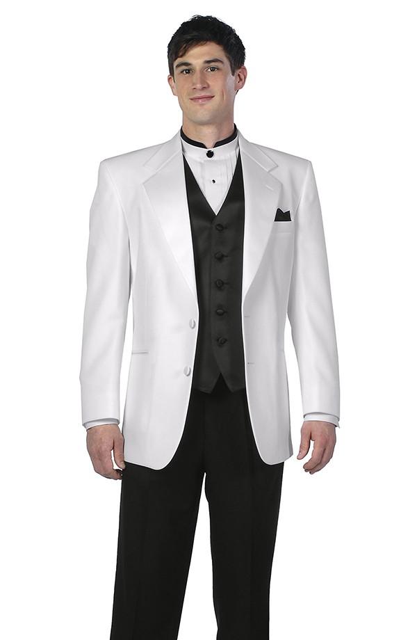 White Tuxedo Coat