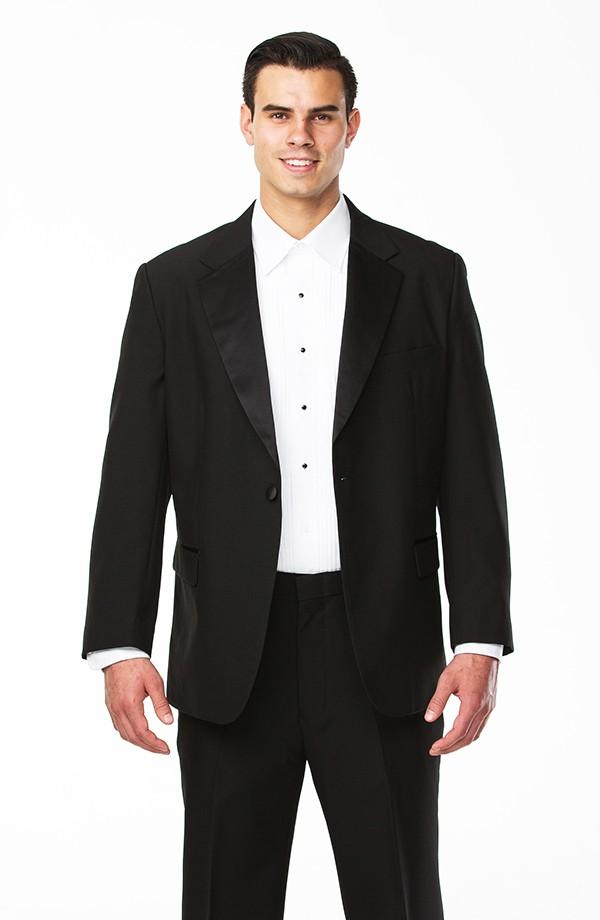 Notch Lapel Poly Tuxedo