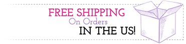 Free shipping on orders in the US!
