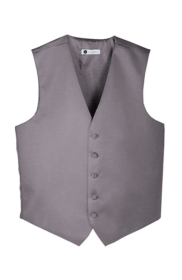 Softened Taffeta 5 Button Vest