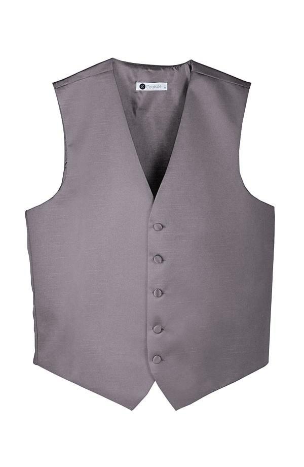 Softened Taffeta 5 Button Vest
