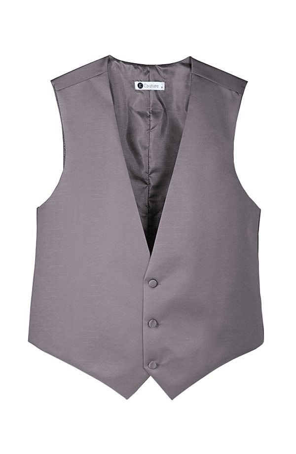 Softened Taffeta 3 Button Vest