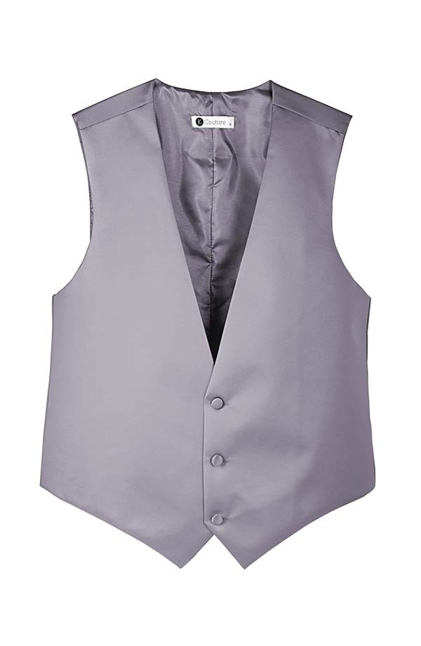 Satin 3 Button Vest