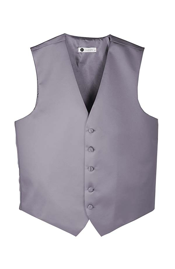 Satin 5 Button Vest